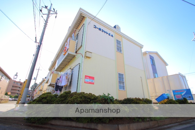 埼玉県富士見市、鶴瀬駅徒歩19分の築26年 2階建の賃貸アパート