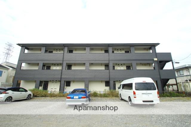埼玉県志木市、西浦和駅バス13分下宗岡2丁目下車後徒歩2分の築19年 3階建の賃貸アパート