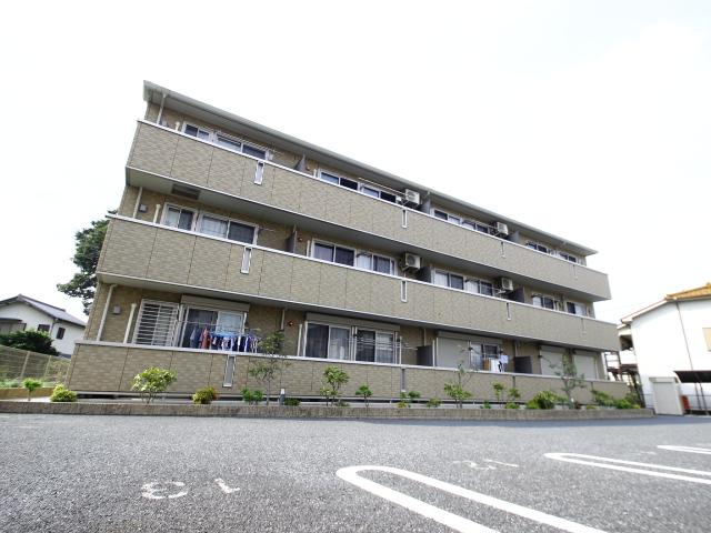 埼玉県朝霞市、北朝霞駅徒歩18分の築8年 3階建の賃貸アパート