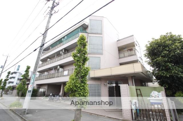 埼玉県川越市、新河岸駅徒歩12分の築24年 4階建の賃貸マンション