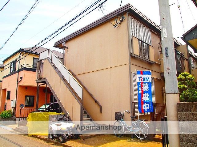 埼玉県川越市、上福岡駅徒歩20分の築29年 2階建の賃貸アパート