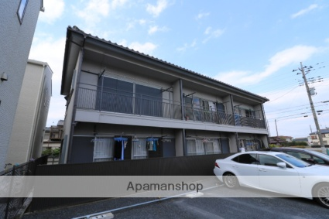 埼玉県川越市、上福岡駅徒歩16分の築41年 2階建の賃貸アパート