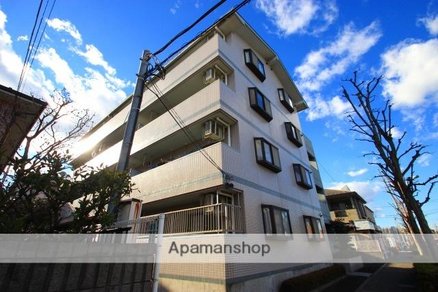 埼玉県富士見市、鶴瀬駅徒歩30分の築20年 4階建の賃貸マンション