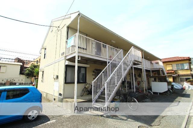 埼玉県富士見市、みずほ台駅徒歩27分の築27年 2階建の賃貸アパート
