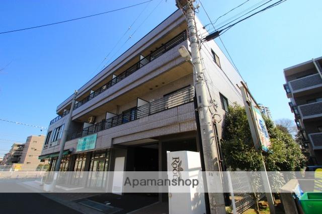 埼玉県富士見市、鶴瀬駅徒歩29分の築18年 3階建の賃貸マンション