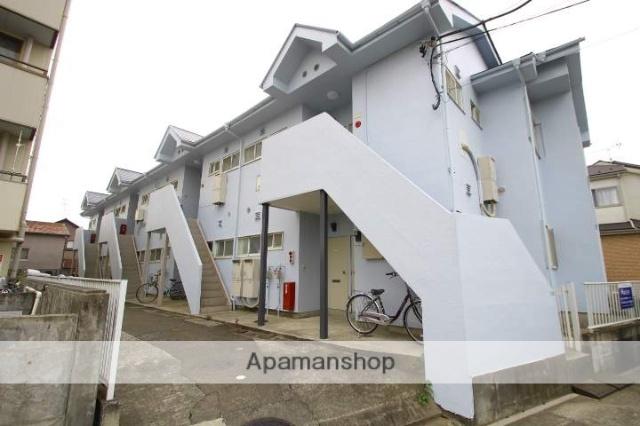 埼玉県志木市、志木駅バス15分佃下車後徒歩8分の築28年 2階建の賃貸アパート