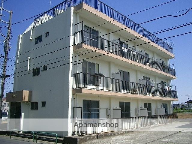 埼玉県新座市、新座駅徒歩12分の築43年 3階建の賃貸マンション