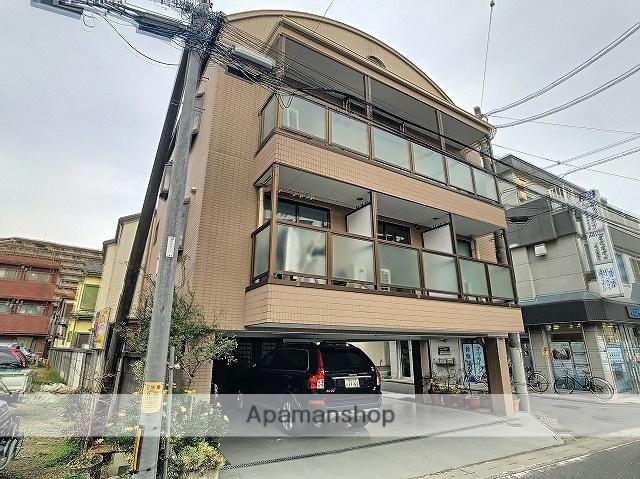 埼玉県朝霞市、北朝霞駅徒歩8分の築18年 3階建の賃貸マンション
