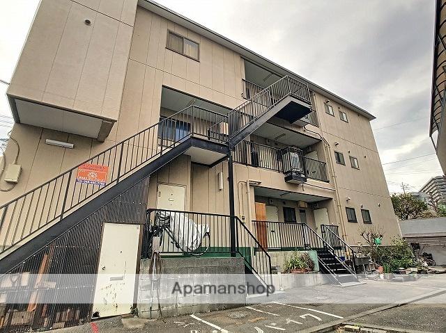 埼玉県朝霞市、北朝霞駅徒歩8分の築29年 3階建の賃貸マンション