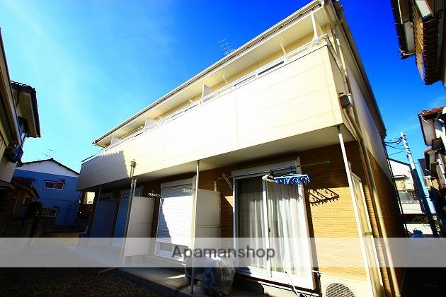 埼玉県川越市、上福岡駅徒歩25分の築9年 2階建の賃貸アパート