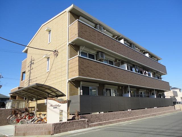 埼玉県川越市、上福岡駅徒歩15分の築4年 3階建の賃貸アパート