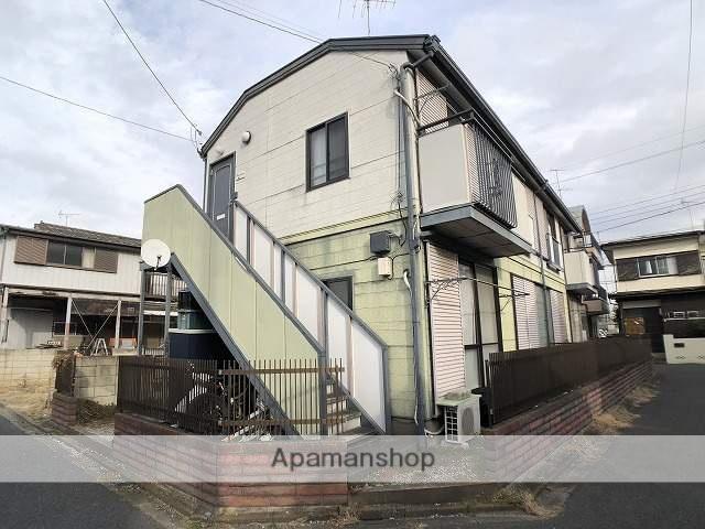 埼玉県川越市、南古谷駅徒歩8分の築28年 2階建の賃貸アパート