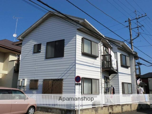 埼玉県富士見市、みずほ台駅徒歩8分の築31年 2階建の賃貸アパート