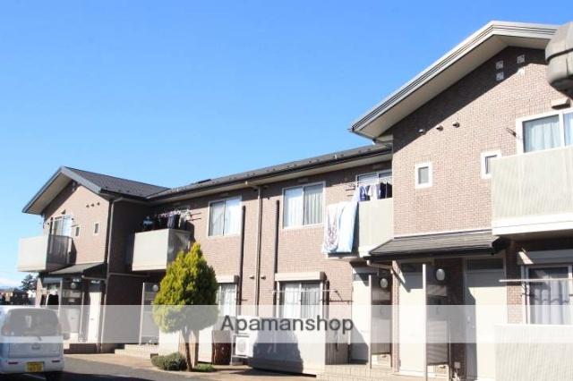 埼玉県富士見市、鶴瀬駅徒歩14分の築8年 2階建の賃貸アパート