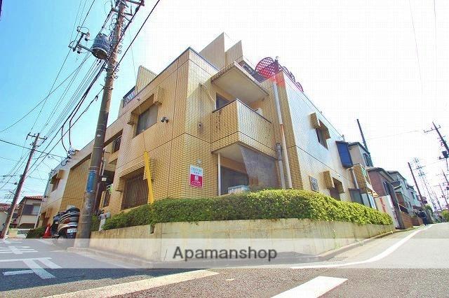 埼玉県富士見市、鶴瀬駅徒歩10分の築29年 4階建の賃貸マンション