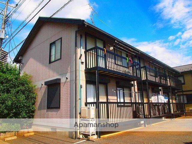 埼玉県ふじみ野市、ふじみ野駅徒歩9分の築18年 2階建の賃貸アパート
