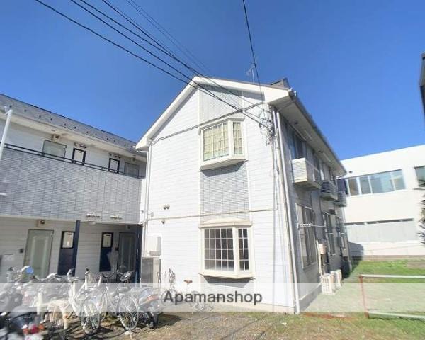 埼玉県志木市、北朝霞駅徒歩29分の築22年 2階建の賃貸アパート