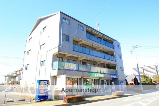 埼玉県ふじみ野市、鶴瀬駅徒歩30分の築18年 4階建の賃貸マンション