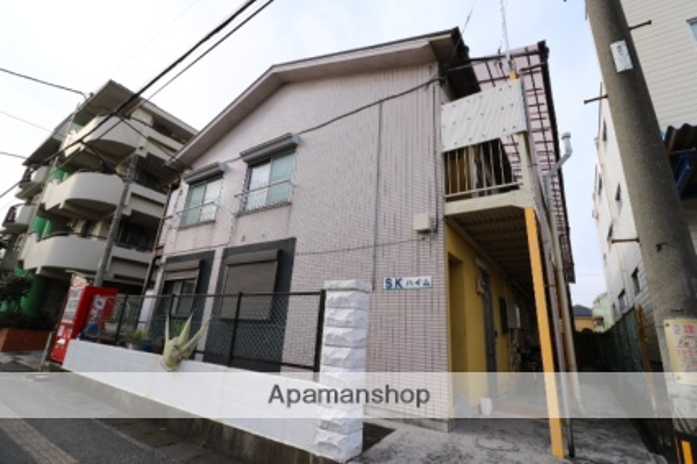 埼玉県川越市、上福岡駅徒歩14分の築45年 2階建の賃貸アパート