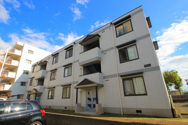 埼玉県富士見市、志木駅徒歩42分の築23年 3階建の賃貸マンション