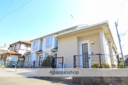 埼玉県入間郡三芳町、鶴瀬駅徒歩21分の築22年 2階建の賃貸テラスハウス