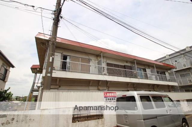 埼玉県入間郡三芳町、みずほ台駅徒歩46分の築28年 2階建の賃貸アパート