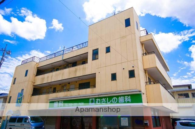 埼玉県川越市、ふじみ野駅徒歩56分の築28年 3階建の賃貸マンション