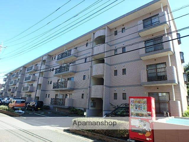 埼玉県富士見市、ふじみ野駅徒歩2分の築21年 4階建の賃貸マンション