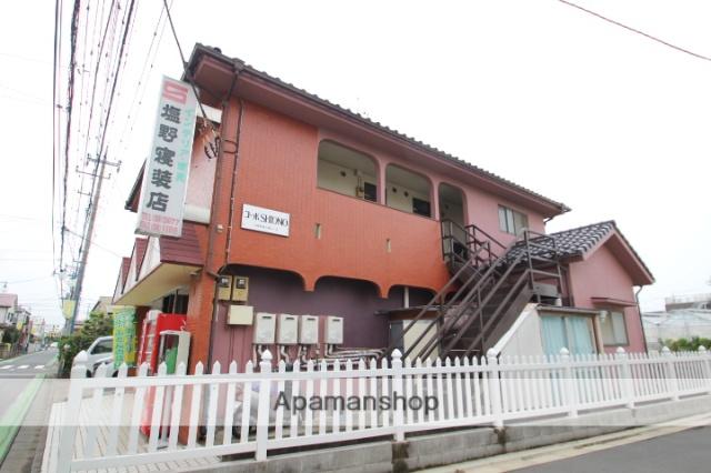 埼玉県入間郡三芳町、鶴瀬駅徒歩18分の築26年 2階建の賃貸アパート