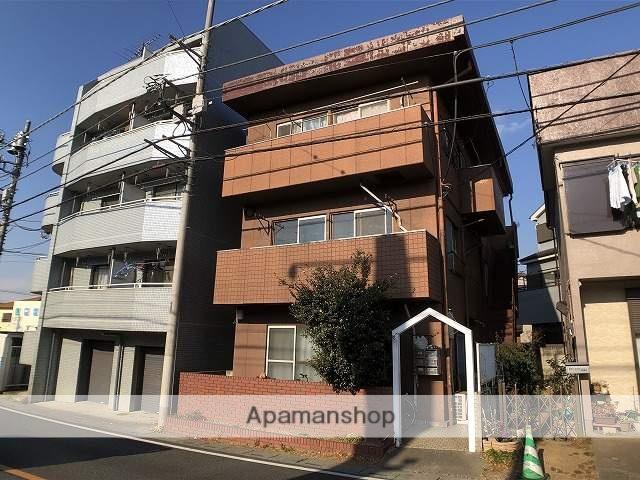 埼玉県富士見市、みずほ台駅徒歩10分の築43年 3階建の賃貸マンション