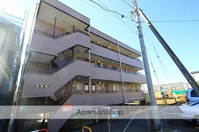 埼玉県新座市、志木駅徒歩20分の築24年 4階建の賃貸マンション