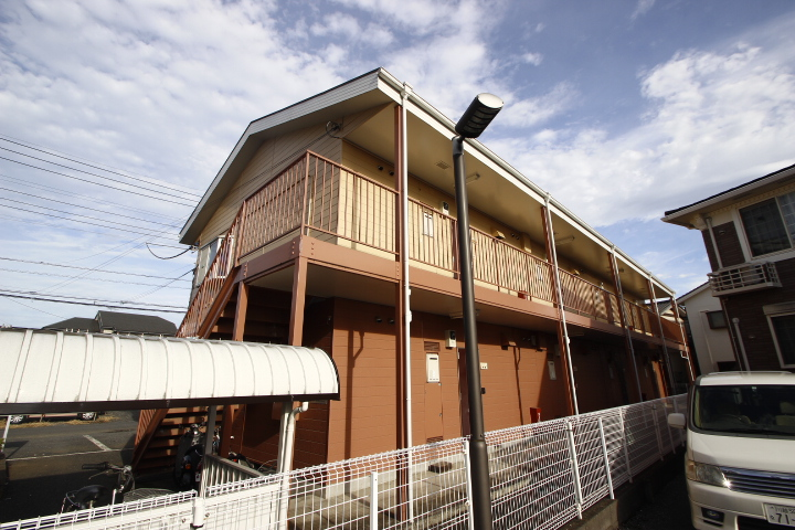 埼玉県川越市、上福岡駅徒歩27分の築25年 2階建の賃貸アパート