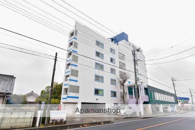 埼玉県川越市、上福岡駅徒歩17分の築24年 7階建の賃貸マンション