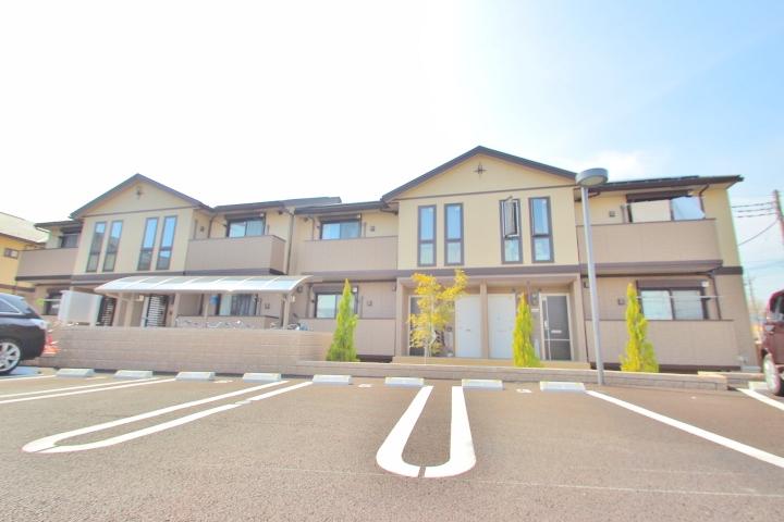 埼玉県富士見市、みずほ台駅徒歩21分の築2年 2階建の賃貸アパート