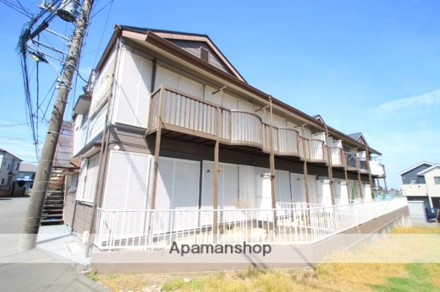 埼玉県和光市、朝霞駅徒歩21分の築26年 2階建の賃貸アパート