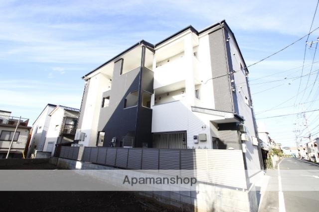 埼玉県川越市、上福岡駅徒歩7分の築1年 3階建の賃貸アパート