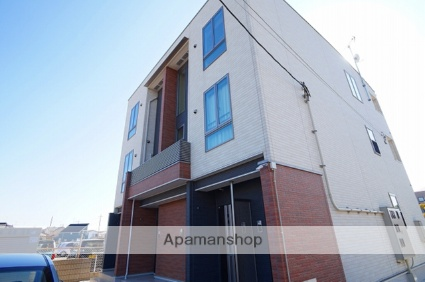 埼玉県川越市、南古谷駅徒歩10分の築2年 3階建の賃貸アパート