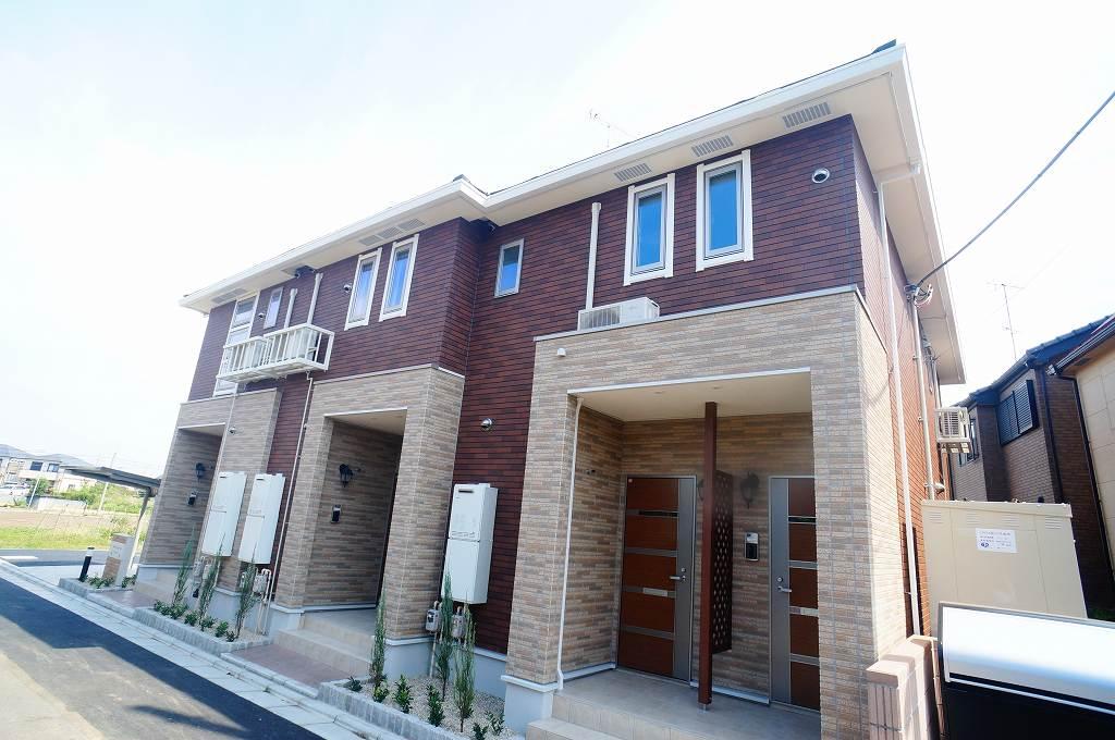 埼玉県川越市、新河岸駅徒歩11分の築2年 2階建の賃貸アパート