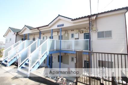 埼玉県朝霞市、北朝霞駅徒歩8分の築25年 2階建の賃貸アパート