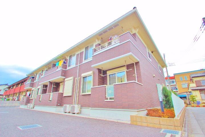 埼玉県富士見市、みずほ台駅徒歩37分の築5年 2階建の賃貸アパート