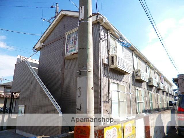 埼玉県富士見市、柳瀬川駅徒歩21分の築21年 2階建の賃貸アパート