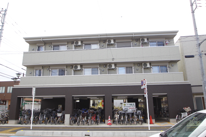 埼玉県川越市、新河岸駅徒歩2分の新築 3階建の賃貸アパート