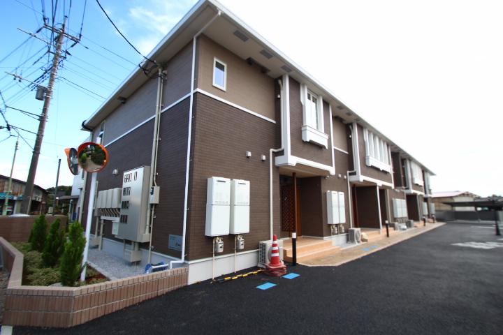 埼玉県川越市、南古谷駅徒歩20分の新築 2階建の賃貸アパート