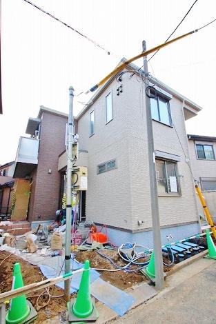 埼玉県富士見市、柳瀬川駅徒歩26分の新築 2階建の賃貸アパート