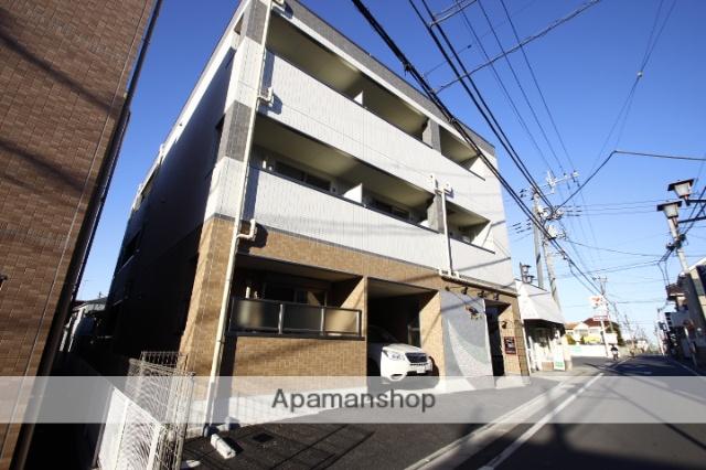 埼玉県川越市、南古谷駅徒歩38分の新築 3階建の賃貸マンション