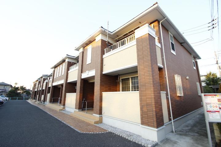 埼玉県川越市、南古谷駅徒歩8分の築4年 2階建の賃貸アパート