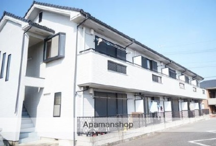 埼玉県川越市、南古谷駅徒歩15分の築18年 2階建の賃貸アパート