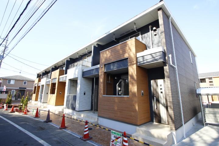 埼玉県川越市、南古谷駅徒歩15分の新築 2階建の賃貸アパート