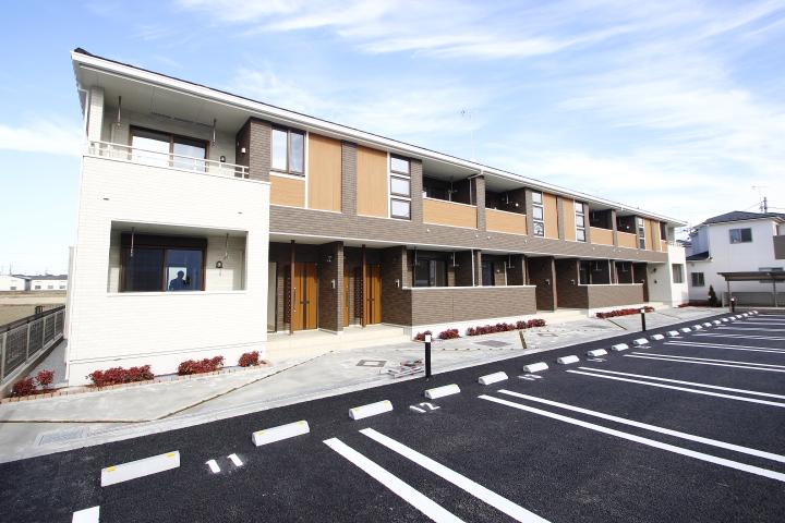 埼玉県川越市、南古谷駅徒歩15分の築1年 2階建の賃貸アパート