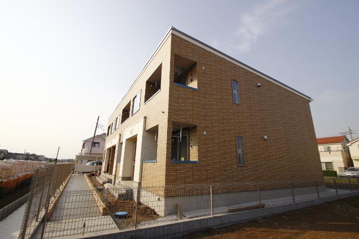 埼玉県川越市、南古谷駅徒歩19分の新築 2階建の賃貸アパート